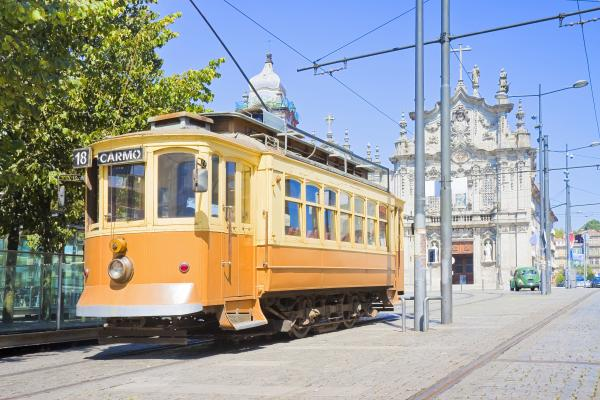 Historical transportation in Porto, Portugal