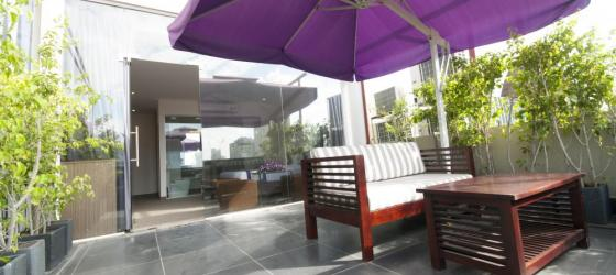 Lavender Boutique patio