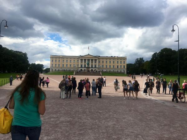Haley makes a beeline to the Royal Palace.