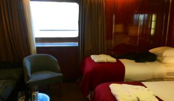 Our Cabin on the Sea Spirit.