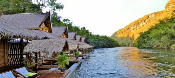 FloatHouse River Kwai exterior