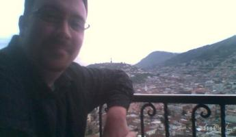 The view from Cafe Mosaico in Quito