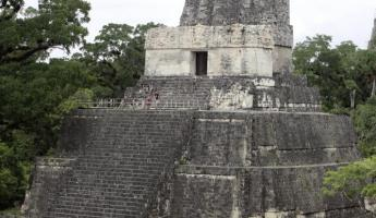 The temple of the mask at Tikal