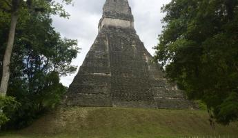 One of the many beautiful temples at Tikal