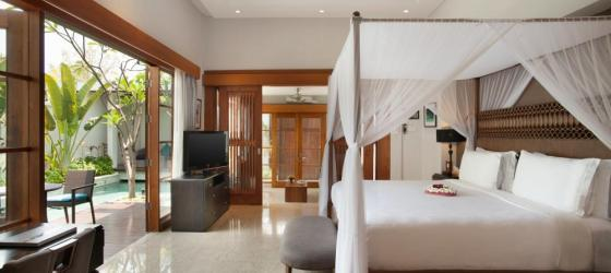 Bedroom pool villa