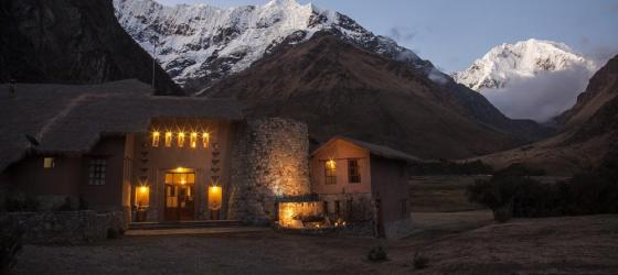 Salkantay Lodge on Salkantay Trek
