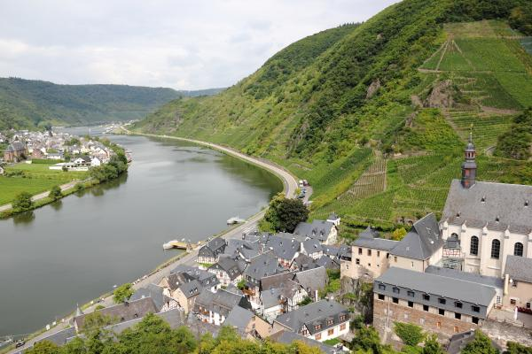 Beilstein on the Moselle River
