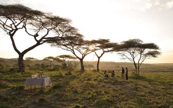 &Beyond Serengeti Under Canvas meals