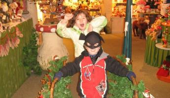 Goofing around in the Christmas markets