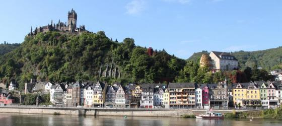 Explore the small medieval town of Cochem
