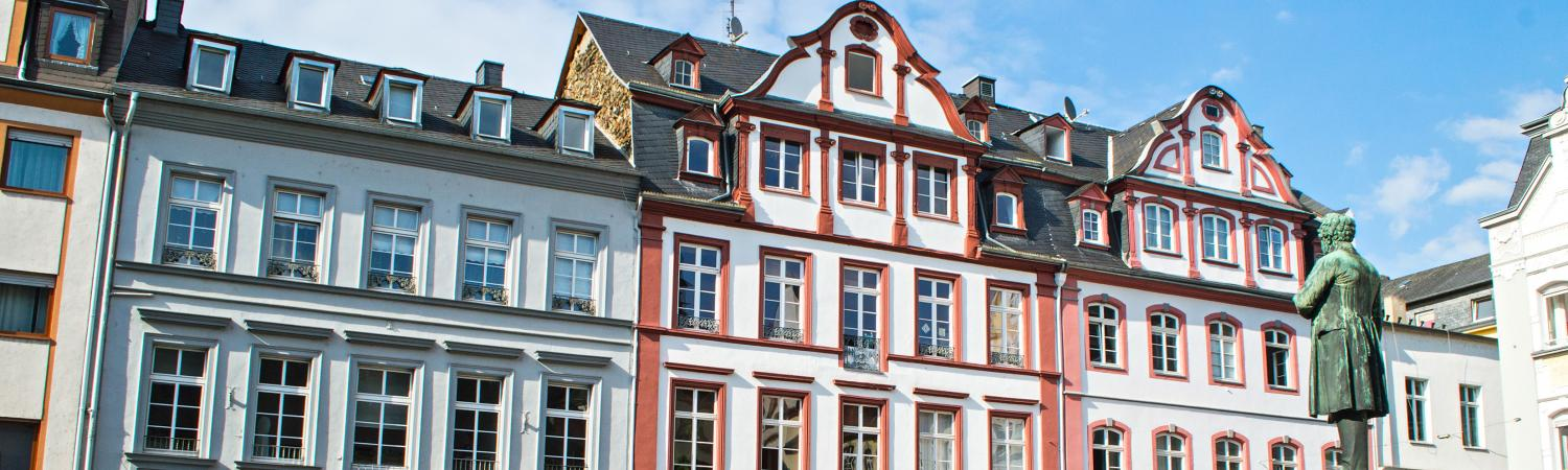 Stroll around the charming streets of Koblenz