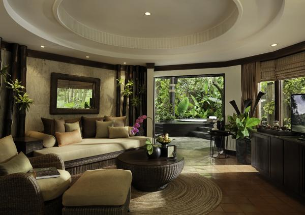 Spa Pavilion Living Room