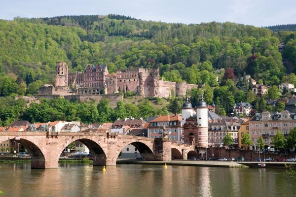 Visit the enchanting Heidelberg