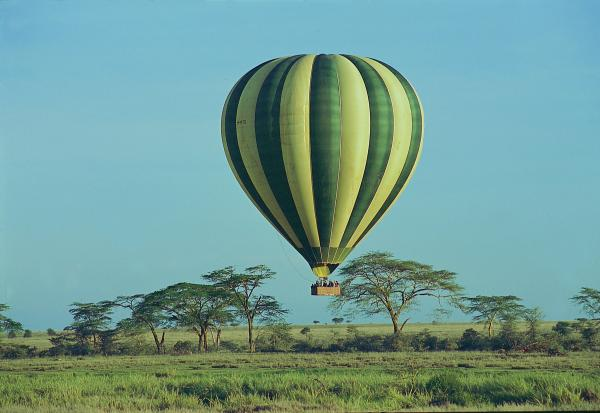 Ballooning in the Serengeti