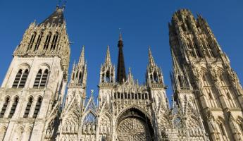 Visit the towering Rouen Cathedral