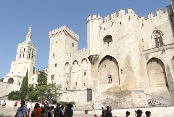 Palace of the Popes in Avignon