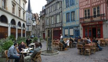 Stroll charming French towns