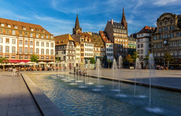 Place Kleber in Strasbourg
