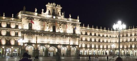 Plaza Mayor by night, Salamanca