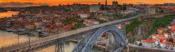 Porto with Dom Luis Bridge