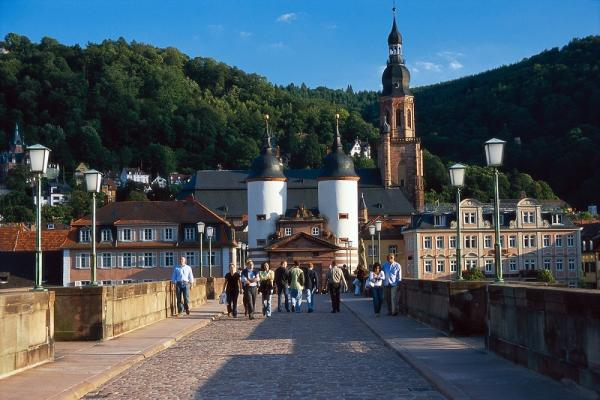 Heidelberg and its castle