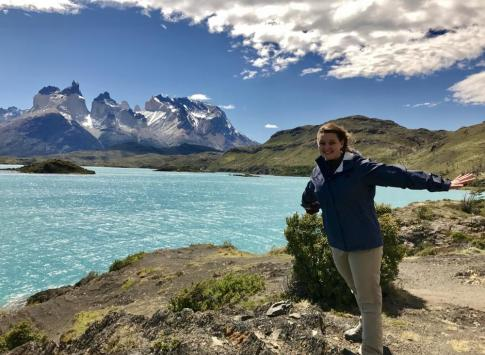 Windy Torres del Paine Park