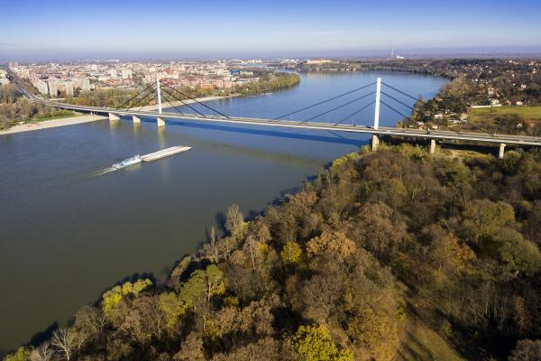 Landscape of Novi Sad, Serbia