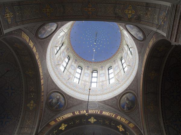 Cupola of the Uspenski Cathedral, Helsinki