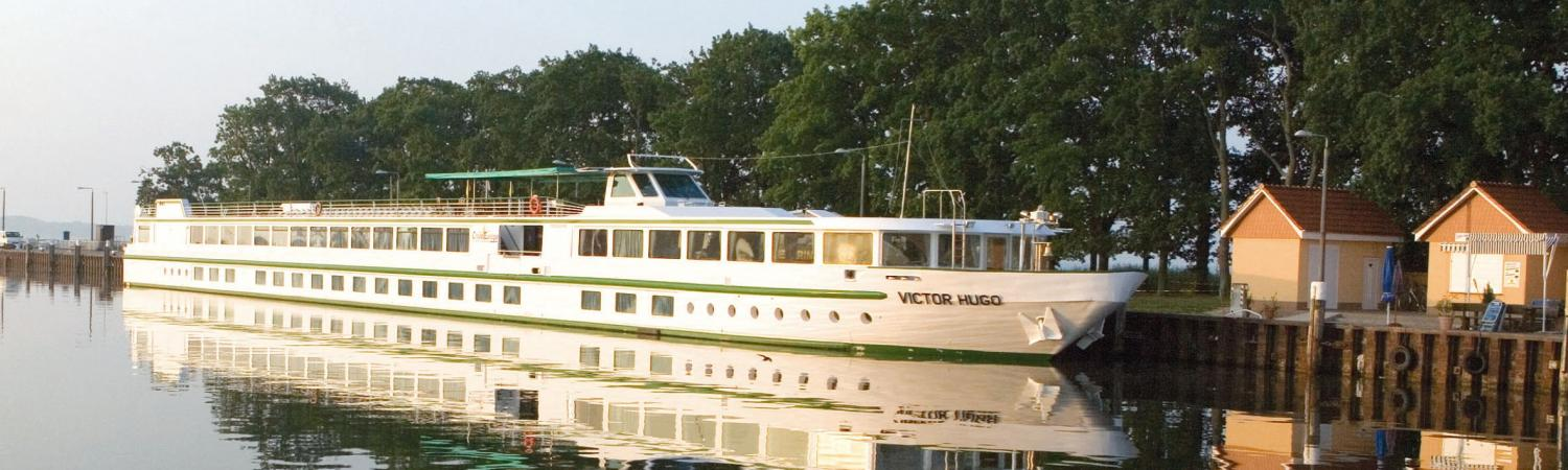 MS Victor Hugo sailing along the Rhine River