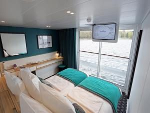 Cabins aboard the MS Elbe Princesse