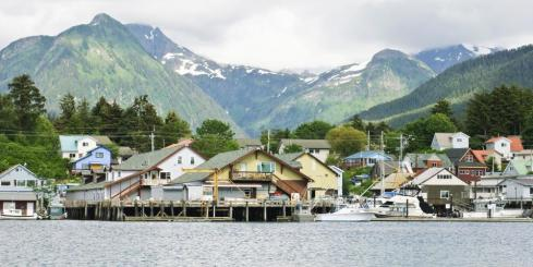 Sitka from the ship