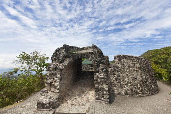 The Old Fort on the Outskirts of Gorontalo