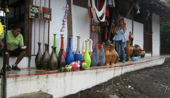 shops selling pottery and ceramics