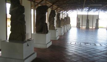 Statues in the museum, Granada