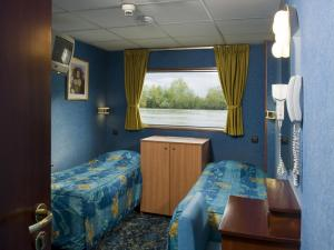 Cabins aboard the MS Camargue