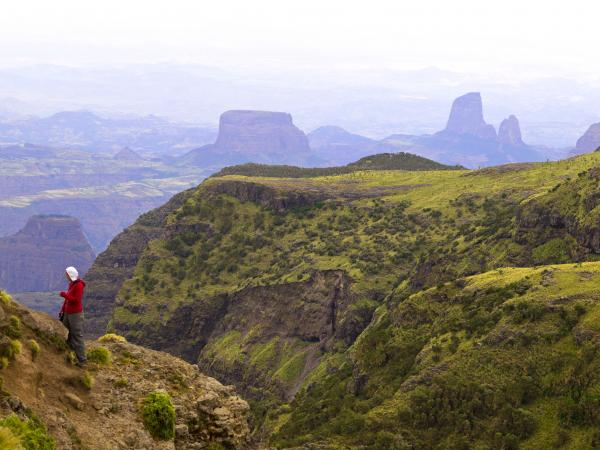 Hiking the Simien Mountains