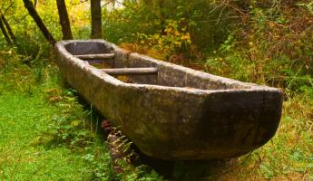 Dugout Canoe at Fort Clatsop