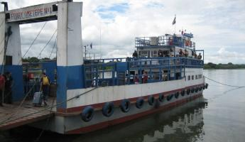 Our ferry to Ometepe Island