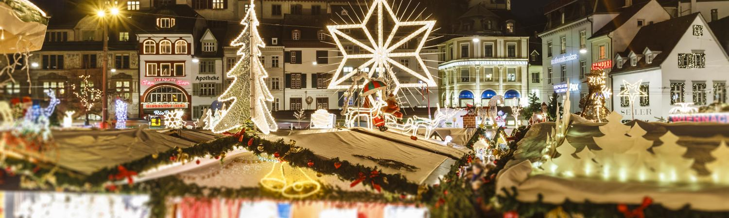 Basel at Christmas, Switzerland