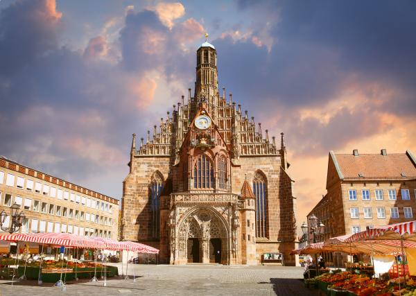 Frauenkirche church in Nuremberg