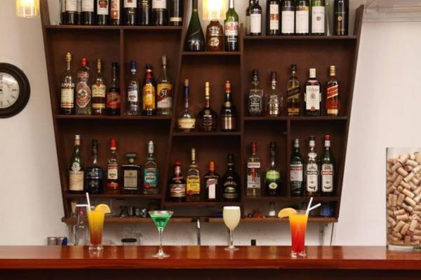 Enjoy unique cocktails at the hotel's bar