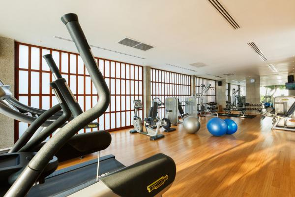 Fitness Centre at the Surin Phuket