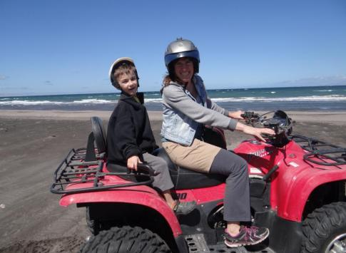 ATV Ride on Baja Coast
