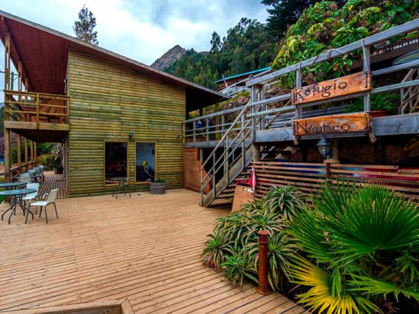Exterior view of the Refugio Nautico Ecolodge