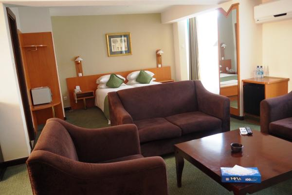 Junior Suite at Blue Nile hotel