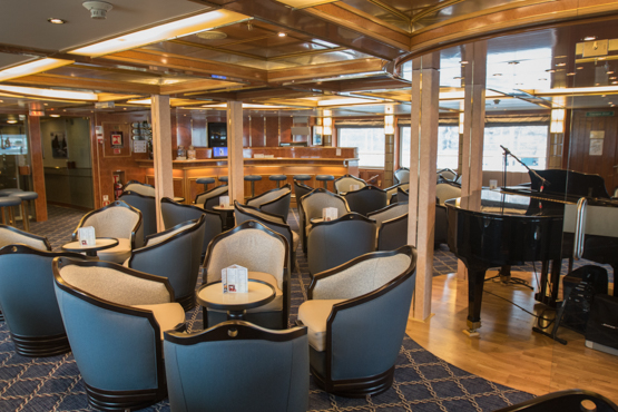 Club Lounge aboard the Sea Spirit