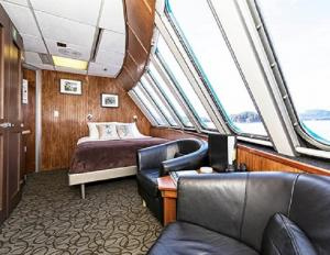 Vista View cabin aboard the Alaskan Dream
