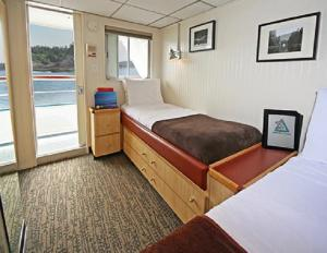 AA cabin aboard the Baranof Dream