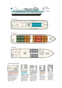 Baranof Dream Deck Plan