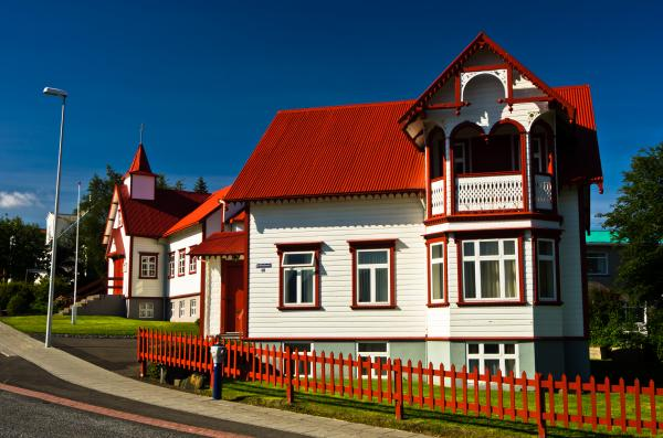 A quaint Catholic Church in Akureyri